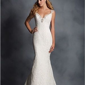 Alfred Angelo All Lace Fit and Flare